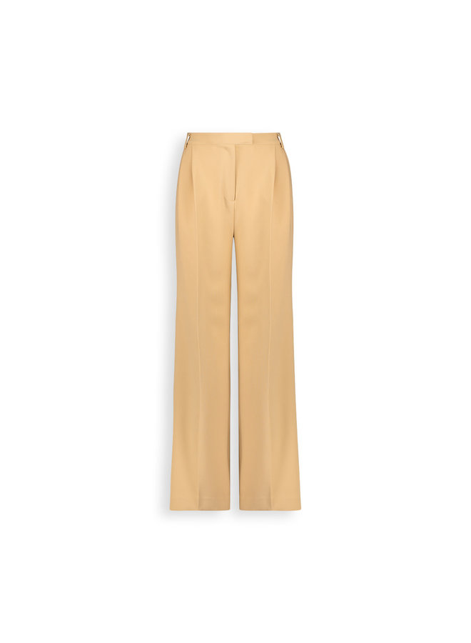 Moore pleated pants | latte