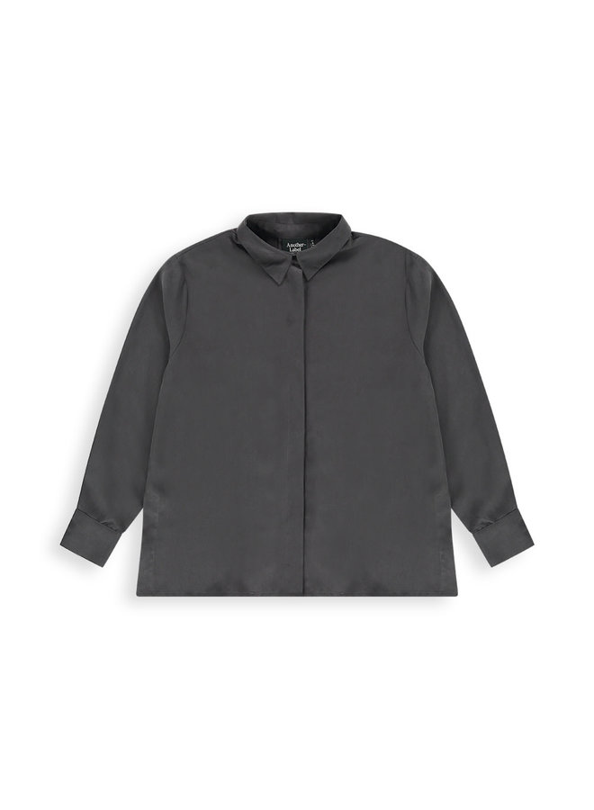 Kusa shirt l/s | anthracite