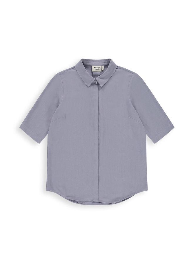 Bache shirt s/s   silver blue