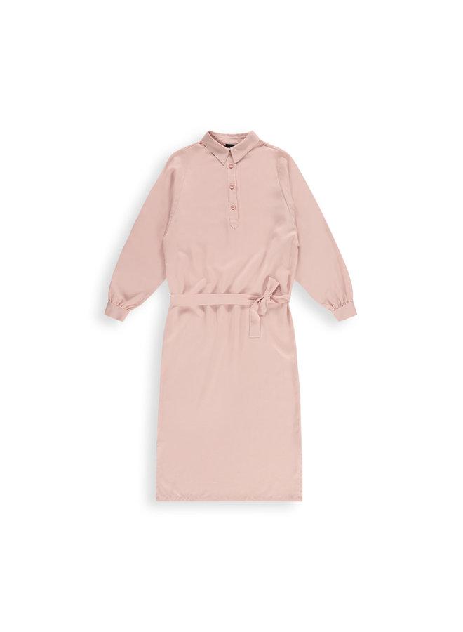 Douce dress l/s | dusty pink