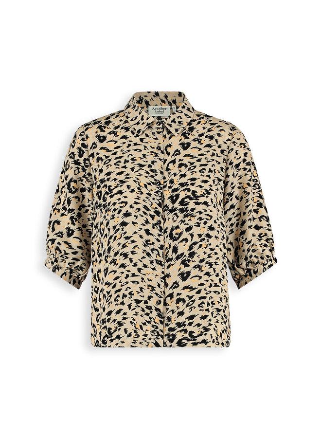 Lierre shirt s/s | beige animal