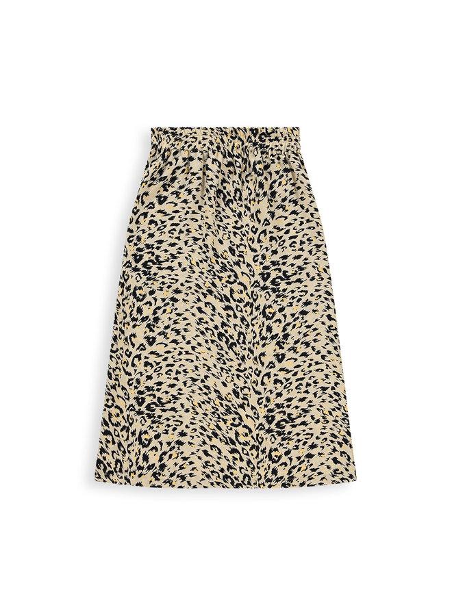 Demi skirt   beige animal