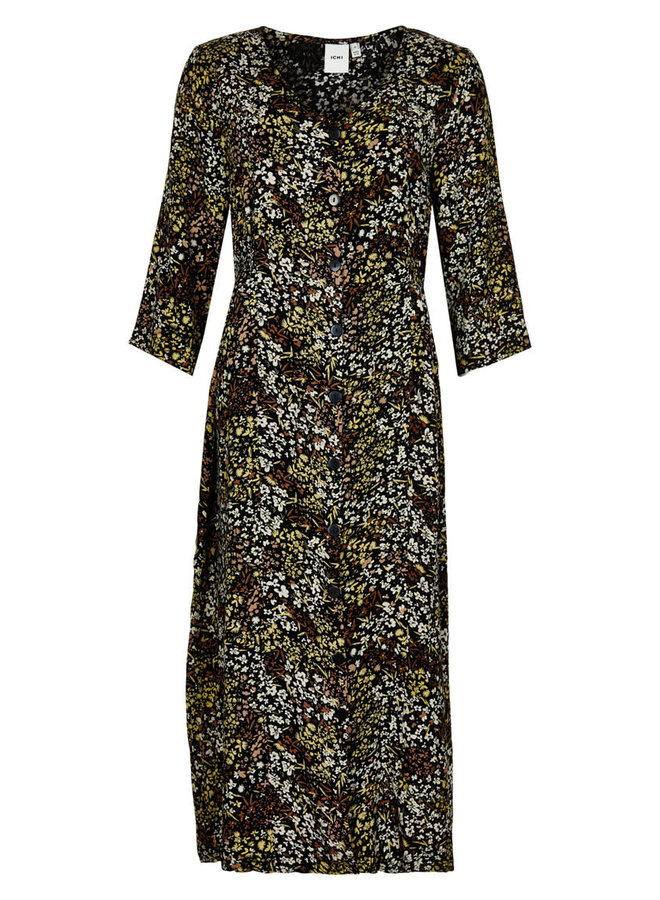 Dress-light woven -  IHBETTA DR | black 194008