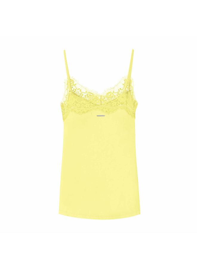 VERA STRAP TOP | citron