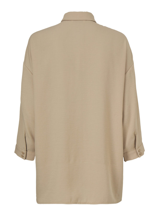 Alexis shirt | cocoon sand