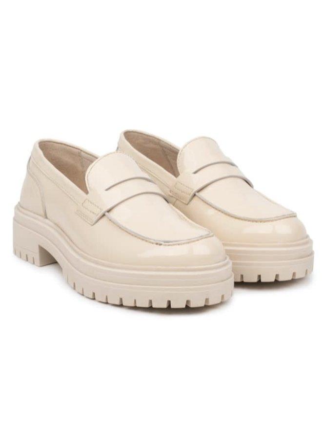 Leyton Loafer Saddle | beige leather