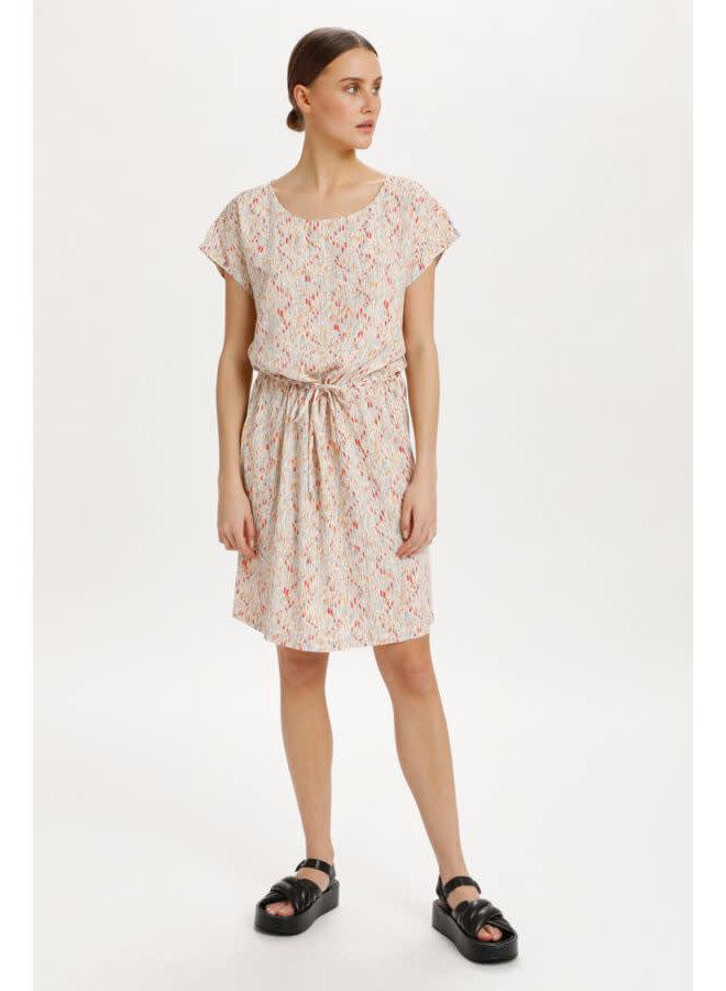 SLLavada Dress | whisper white splash print