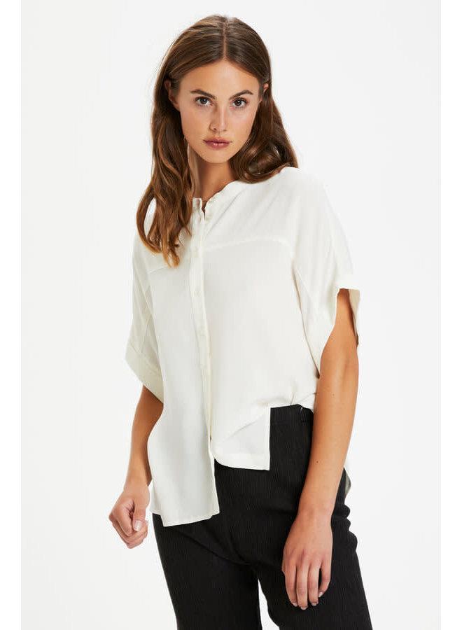SLHelia Shirt SS | whisper white