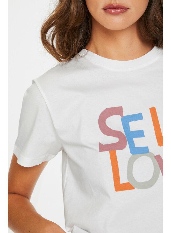 SLSelf T-shirt SS | broken white