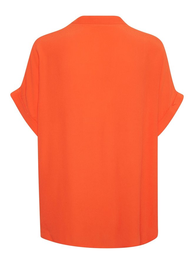 SLHelia Shirt SS   carnelian