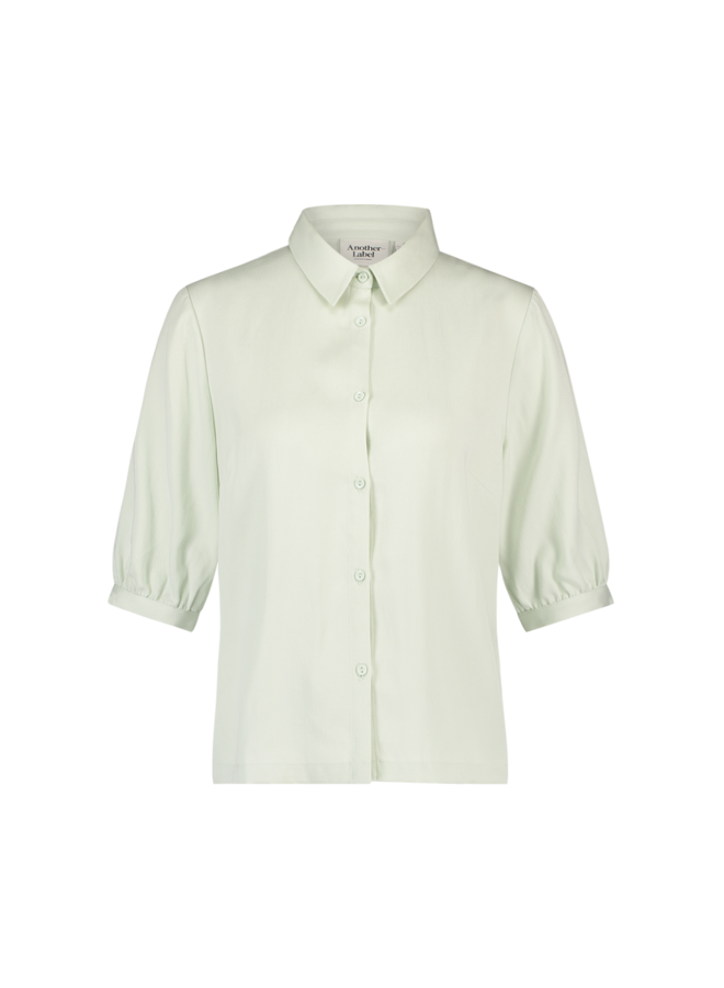 Lierre twill shirt s/s   green lily