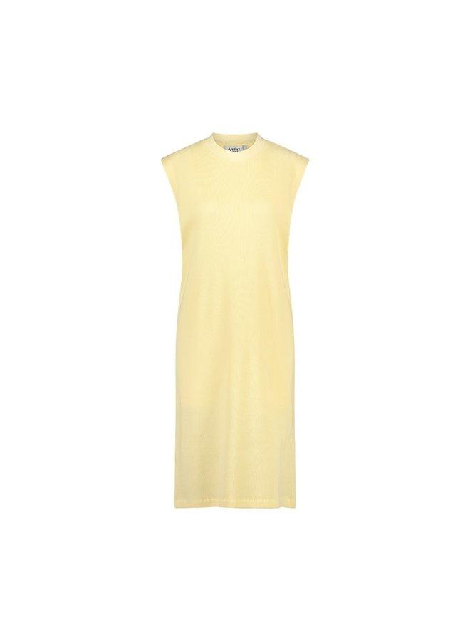 Acaena dress s/l   straw