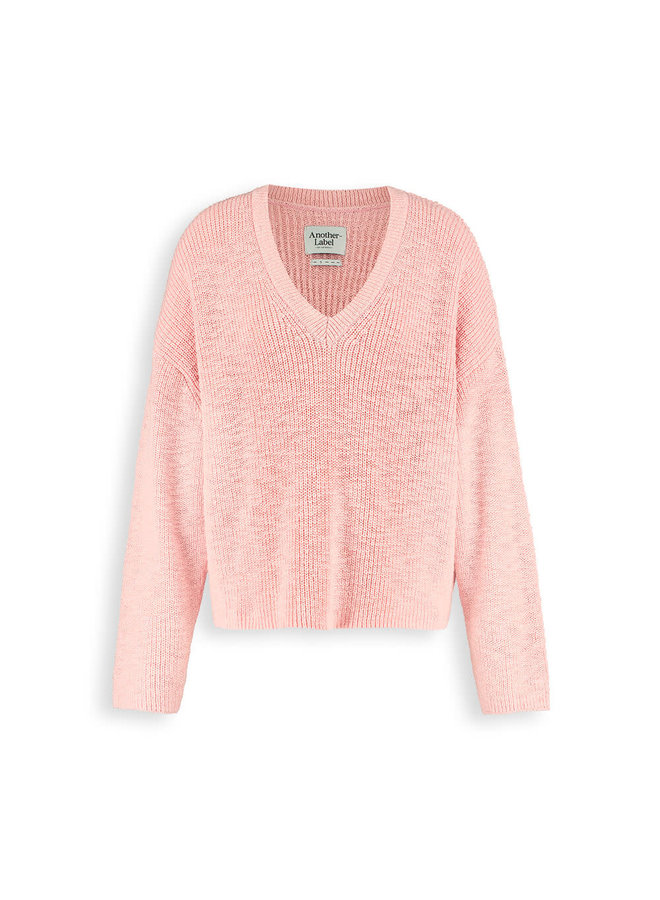 Satsuki knitted pull l/s   dusty pink