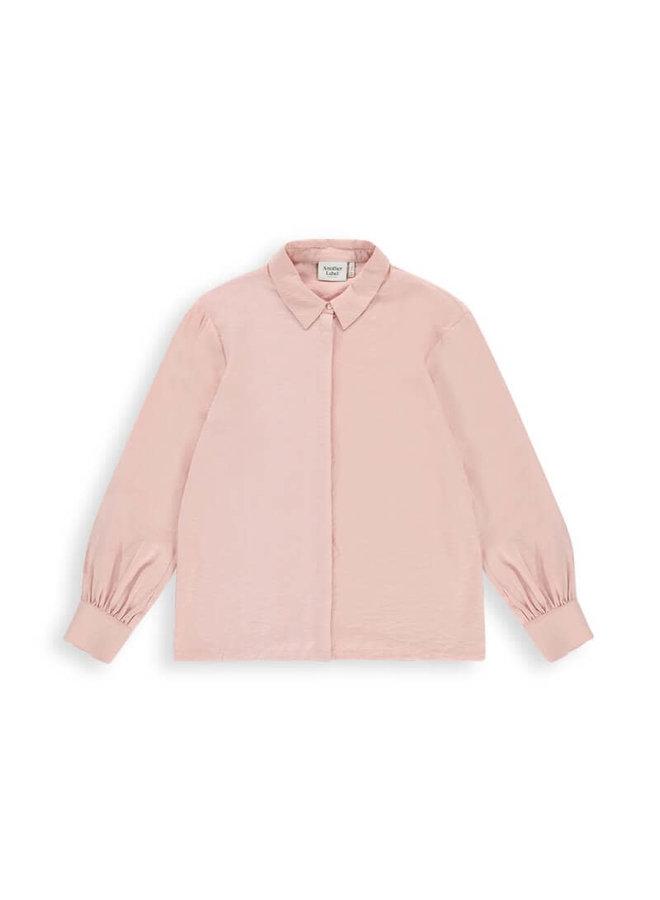 Sakura structured shirt l/s | dusty pink