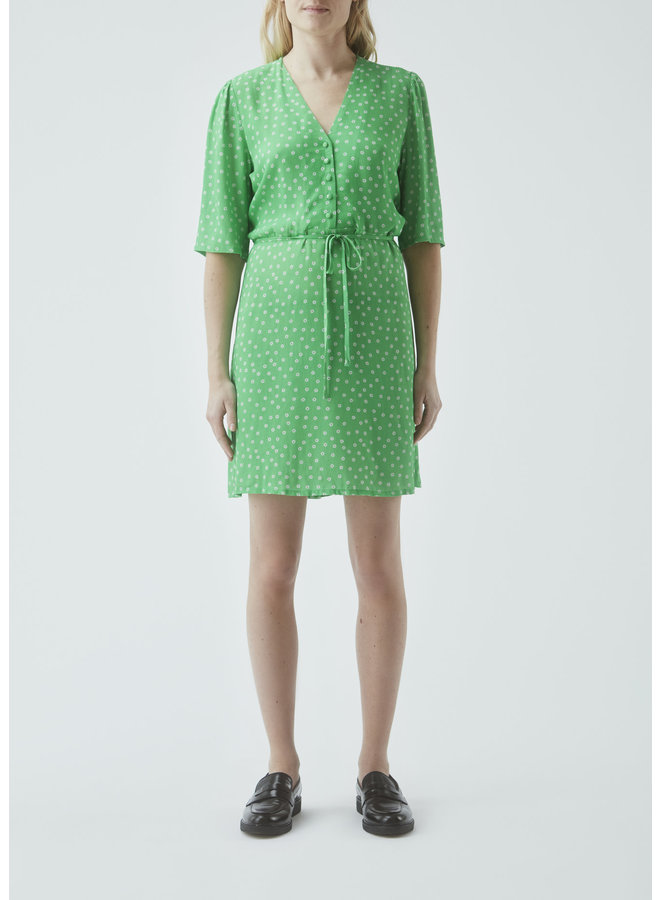 Jessica print short dress | poison daisy