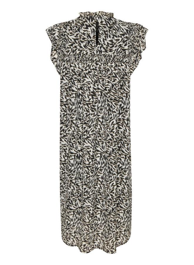 SLAnanya Dress | preppy animal black