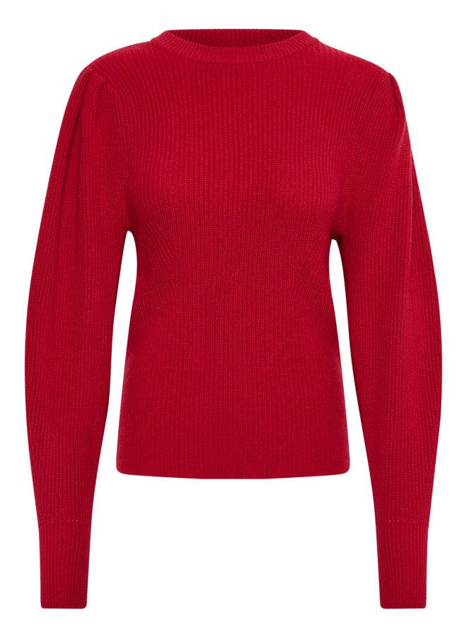 SLMargo Pullover LS | scarlet sage