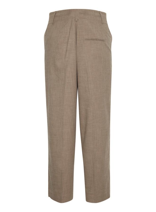 SLNavya Ozark Suiting Pants | chocolate chip