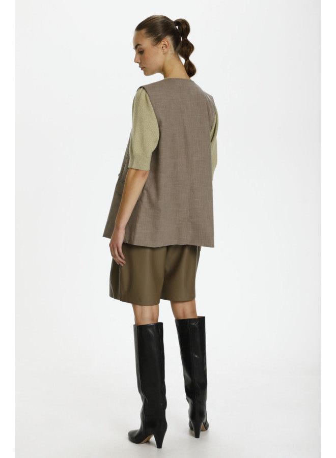 SLNavya Suiting Waistcoat   chocolate chip