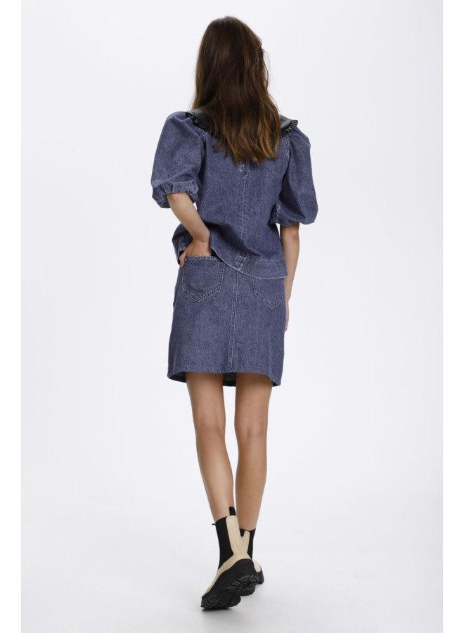 SLNeel Denim Skirt   classic blue denim