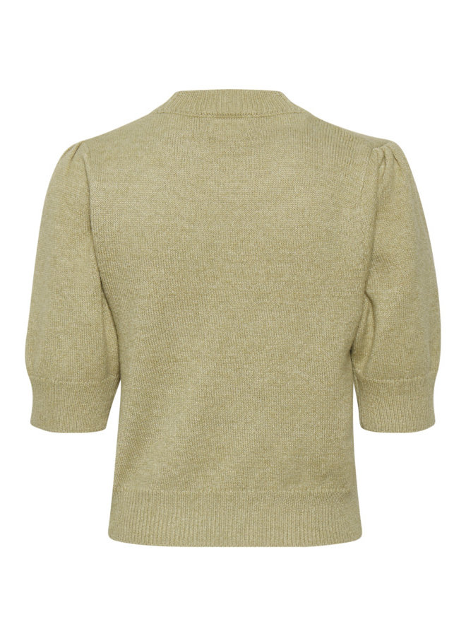 SLRiva Fitted Pullover SS | gray green