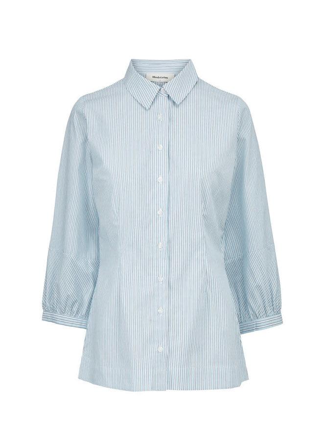 Idol Shirt | blue black stripe