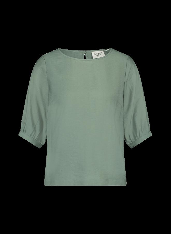 Palmatun top s/s | laurel green