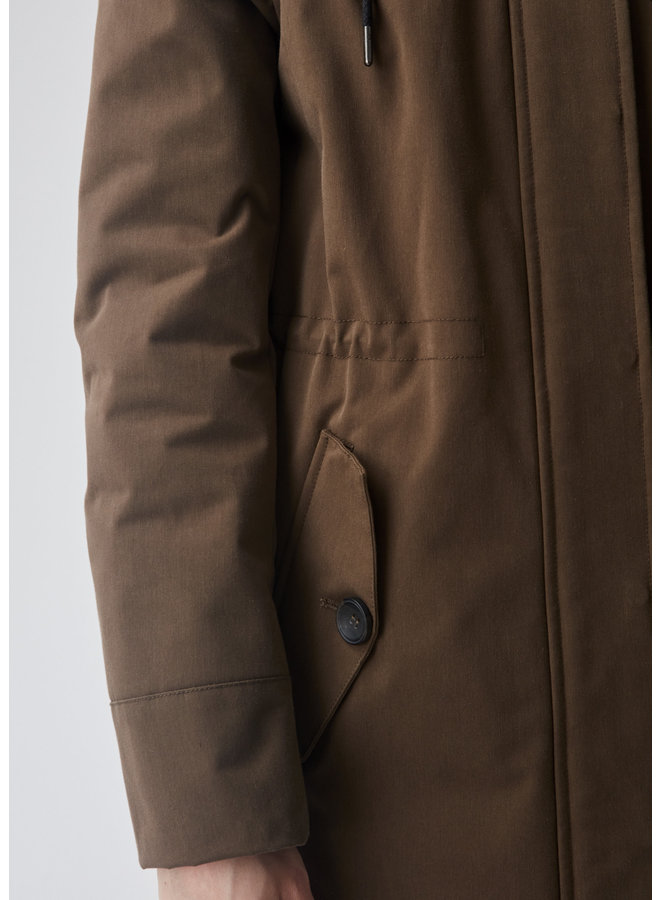 Dakota Coat | woodland brown