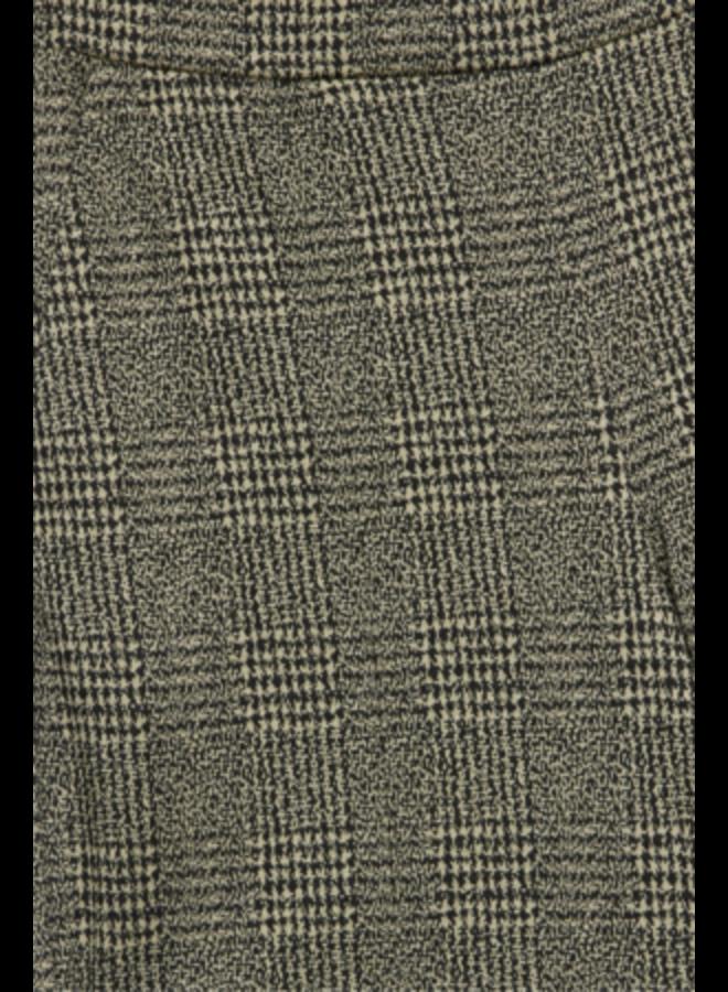 Pants-knitted -  IHKATE GRID PA   black 194008