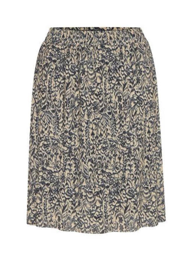 SLPoppie Skirt   tapestry print india ink