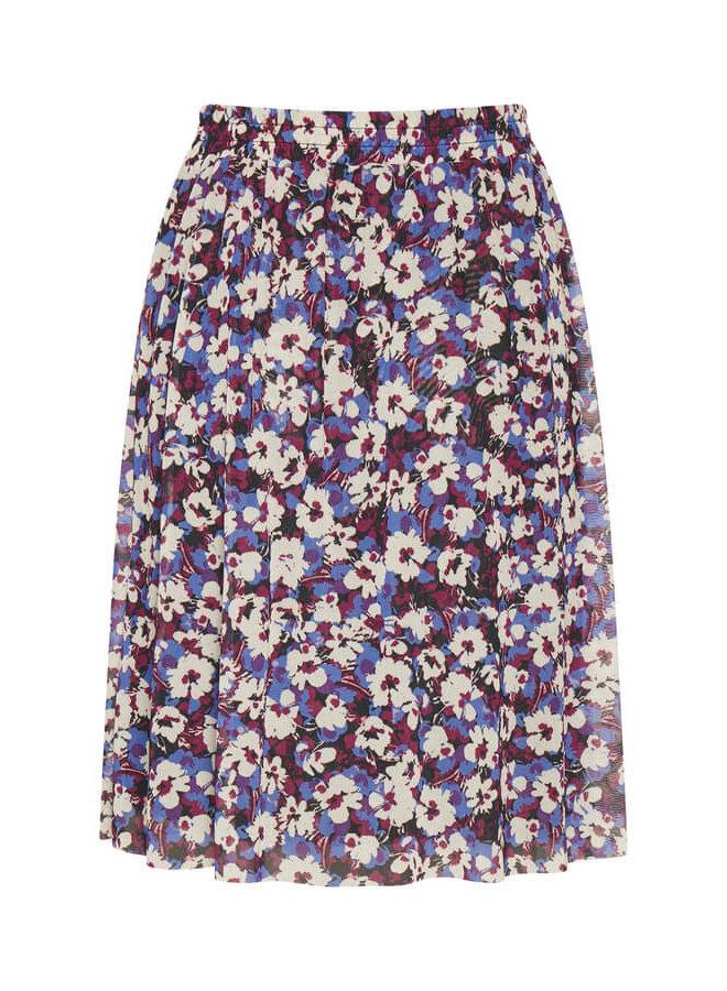 SLPoppie Skirt | dazzling blue flower