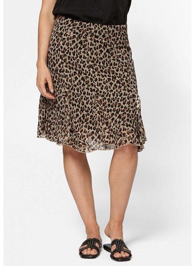 Fame Skirt | leopard