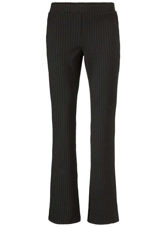 Luke pants | black pinstripe