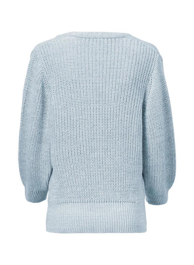 Julia cardigan   blue wash