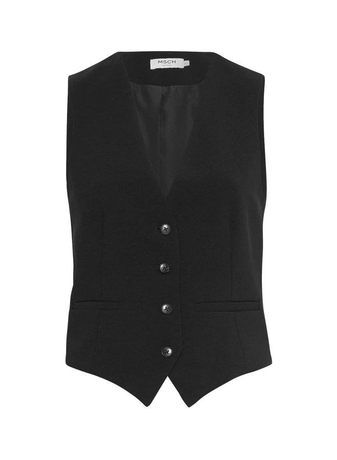 Agda Waistcoat | black