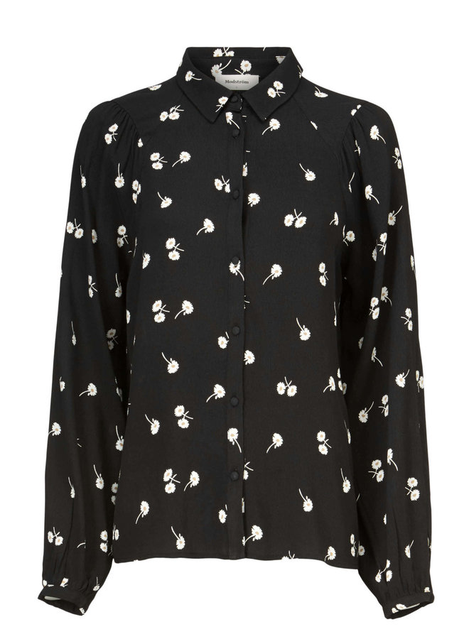 Mercy print shirt   dark daisy