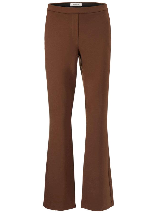 Tanny flare pants | pecan