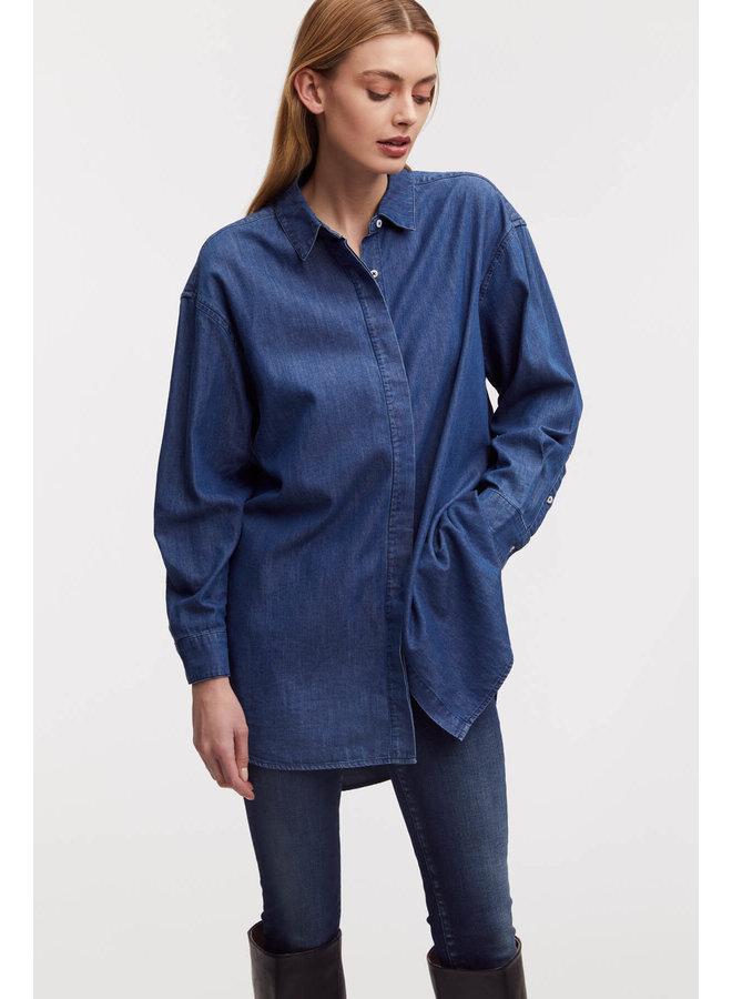 OLIVIA SHIRT BLMWI   blue
