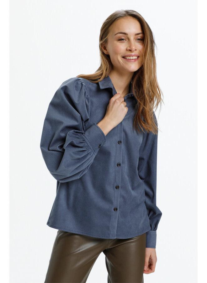 SLIlia Shirt LS   grisaille