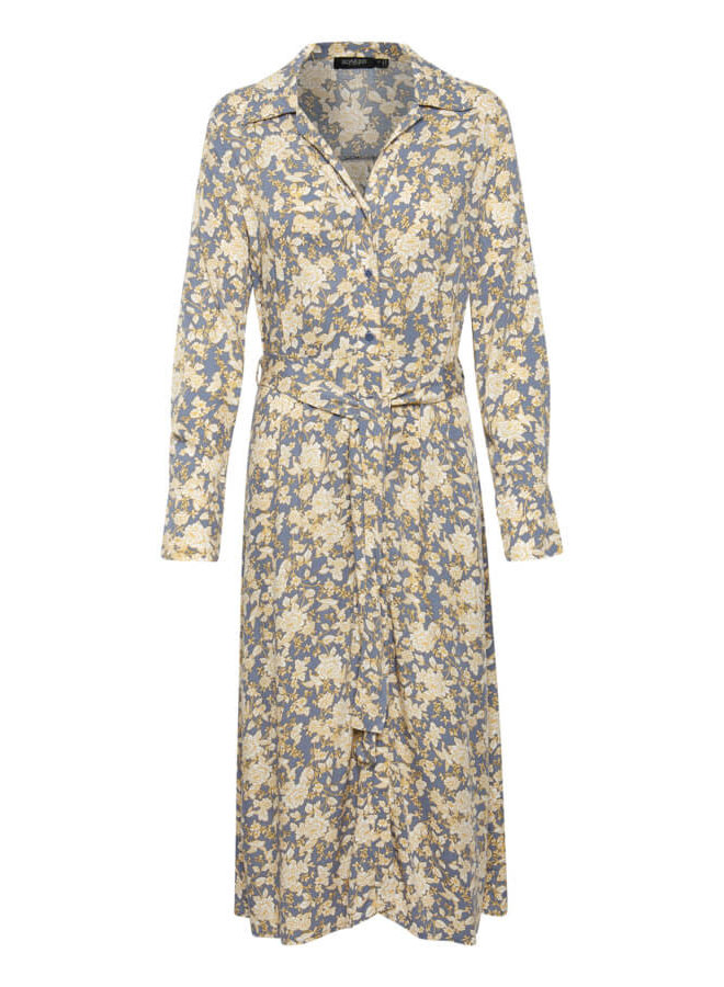 SLAvaleigh Halima Dress | blue china print