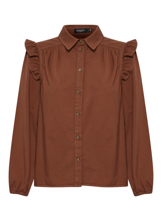 SLEmely Shirt LS   cherry mahogany
