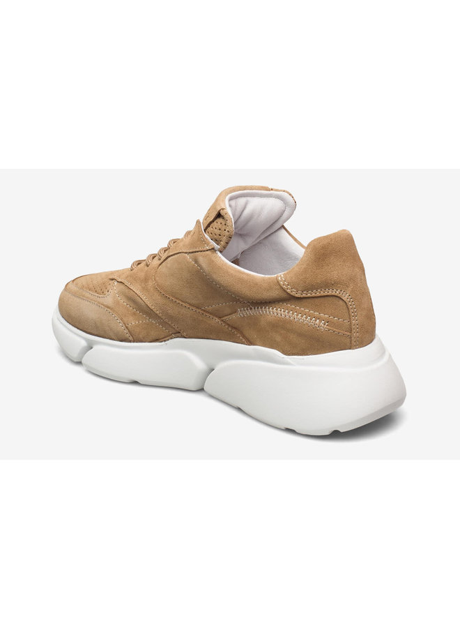 Cleo suede   taupe/rubber 544