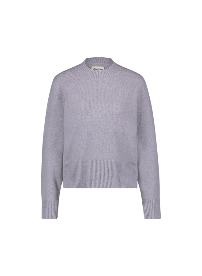 Dee knitted pull l/s| lilac grey