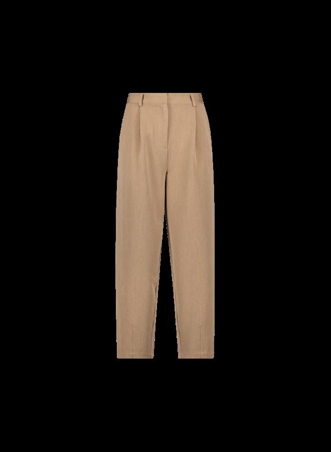 Delfine pants| pecan brown melee