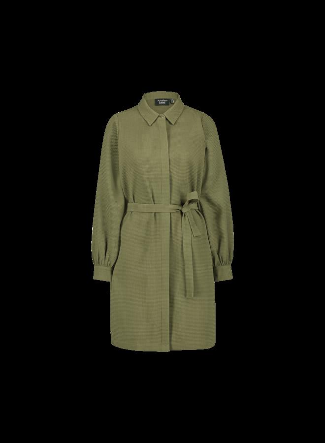 Dionne dress short l/s| ivy green