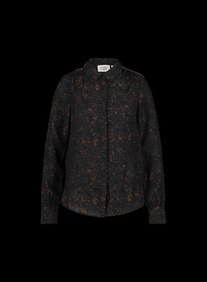 Maple shirt l/s| black sand