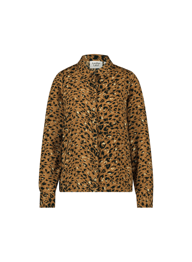 Zaron shirt l/s| pecan animal