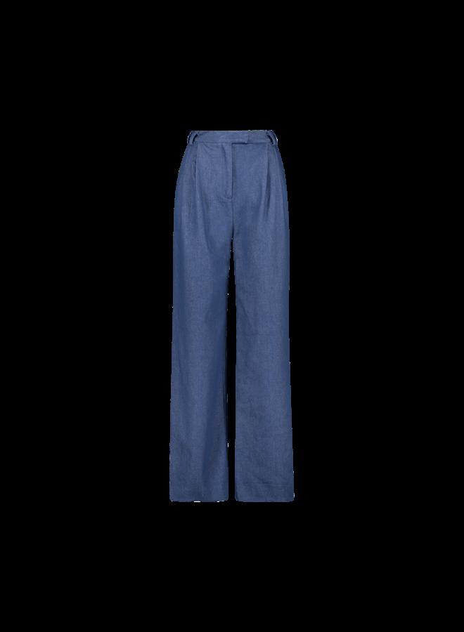 Moore denim pants| blue denim