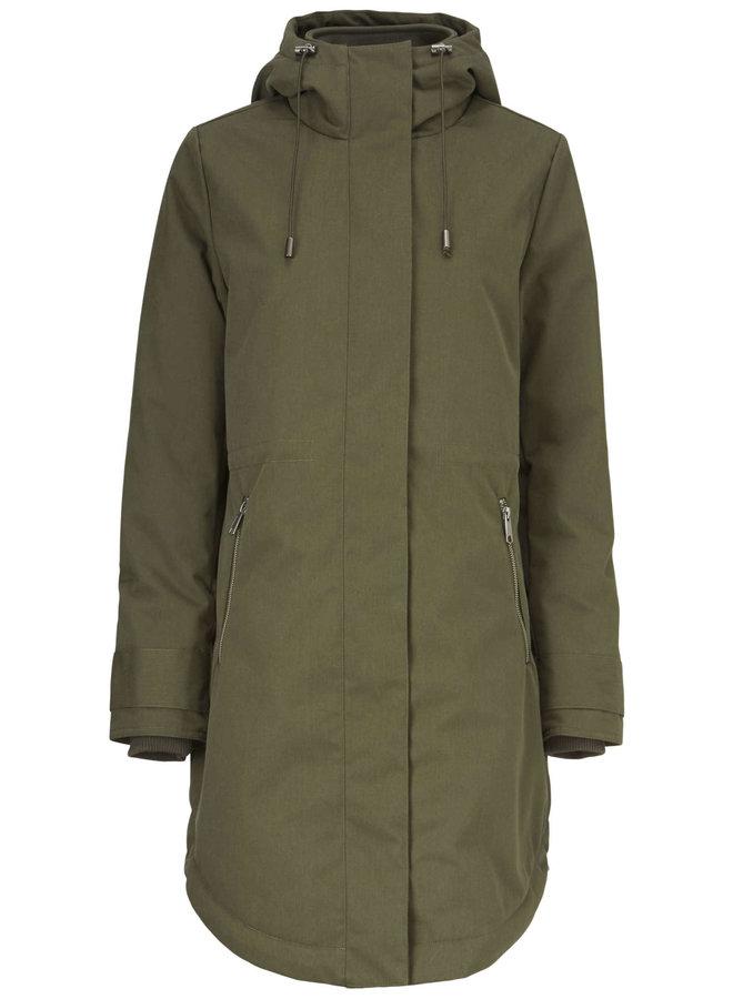 Keller coat | dark army