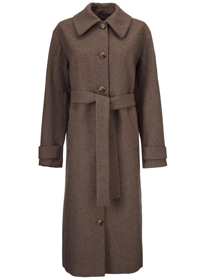 Karina coat | satellite melange